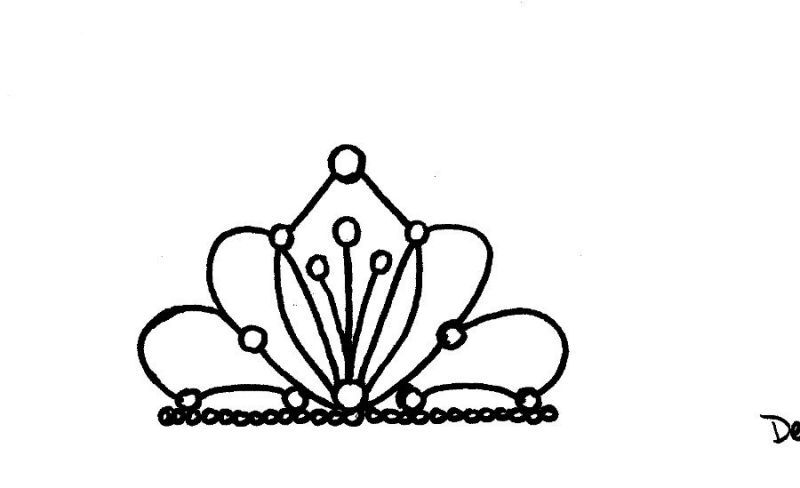 Tiara Template For Cupcakes Yes  Cooking Favs Supplies Etc