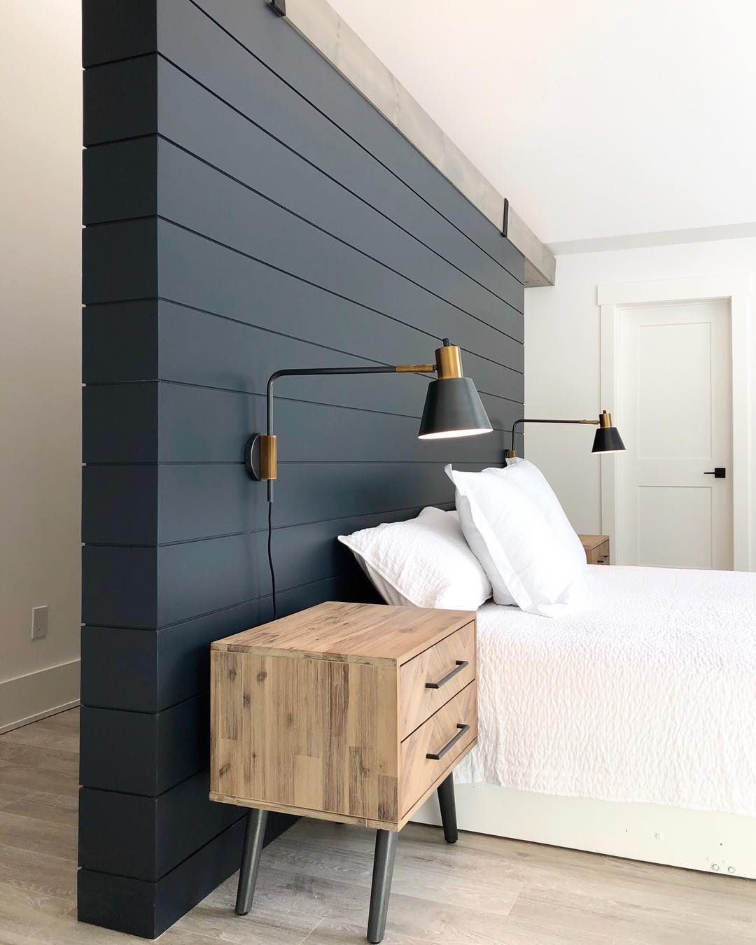A House We Built On Instagram Adding These New Nightstands And Wall Mounted Reading Li In 2020 Master Bedroom Lighting Bedroom Light Fixtures Master Bedroom Makeover
