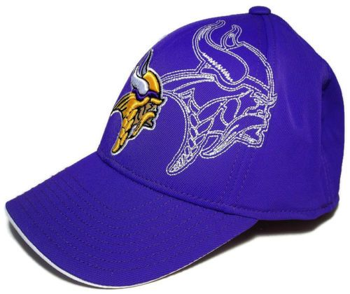 Minnesota Vikings Reebok Structured Flex Cap OSFA Hat NFL Football BRAND NEW 7f1fcef61