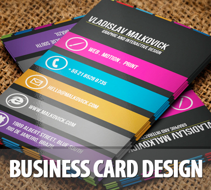 40 extraordinary creative business cards design - Business Cards Design Ideas