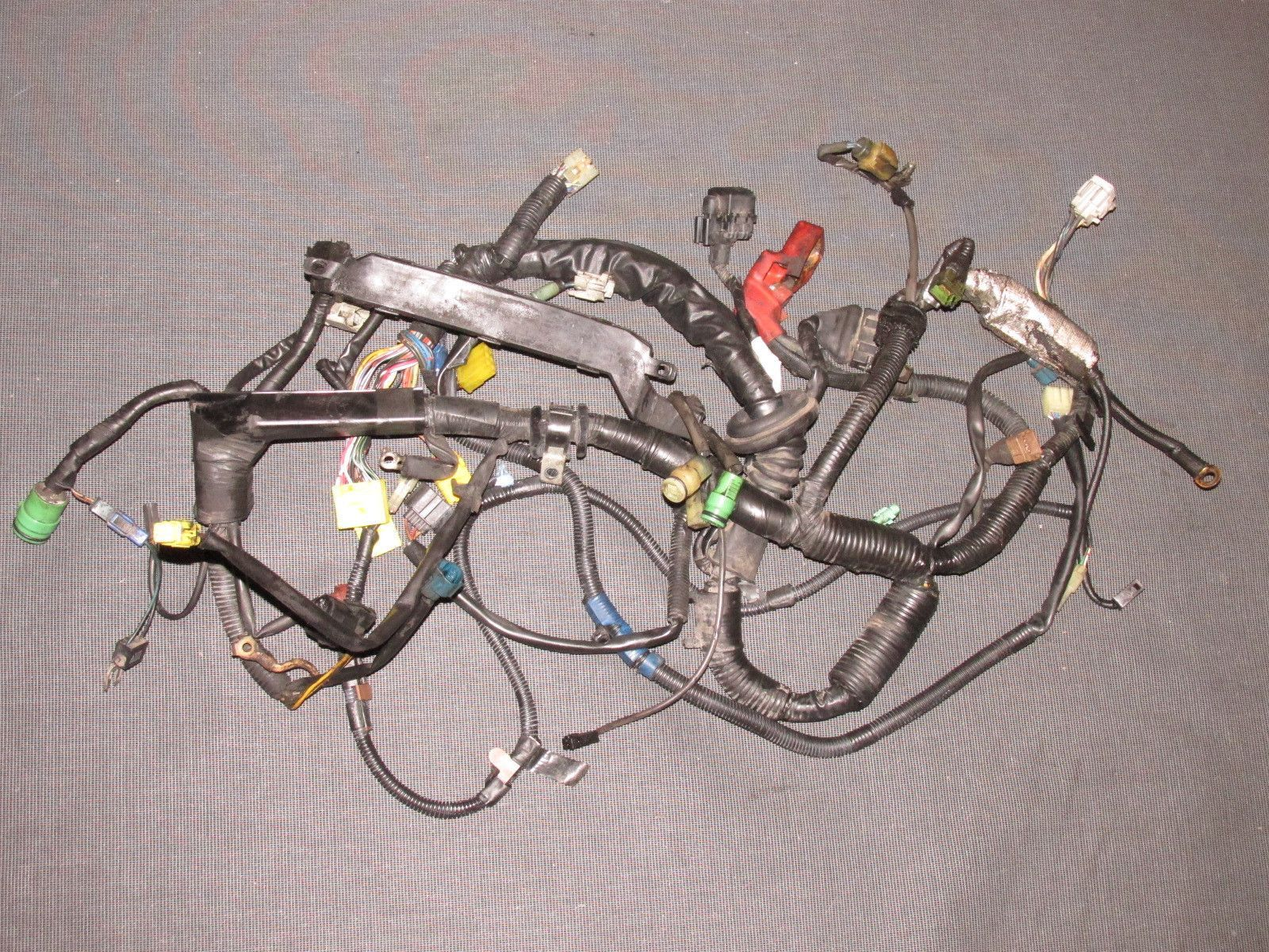 hight resolution of 87 88 89 toyota mr2 oem 4age engine wiring harness m t manual transmission