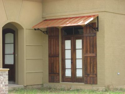 Copper Awnings Metal Awnings Standing Seam Awnings Welddonedesign Metal Awning Copper Awning Residential Awnings