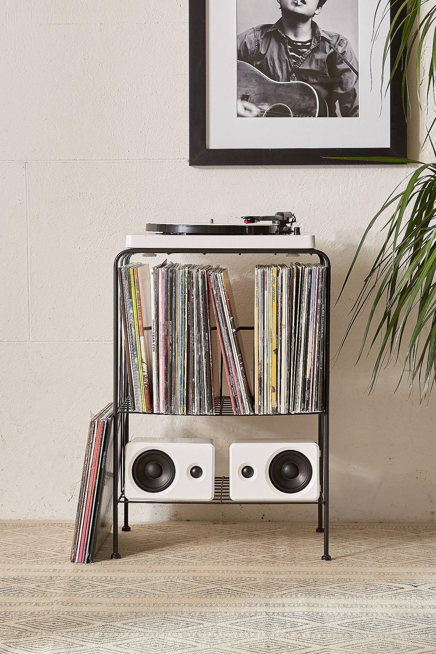 Achetez vite meuble de rangement melanie pour disques vinyle sur urban outfitters choisissez - Meuble rangement pour disque vinyle ...