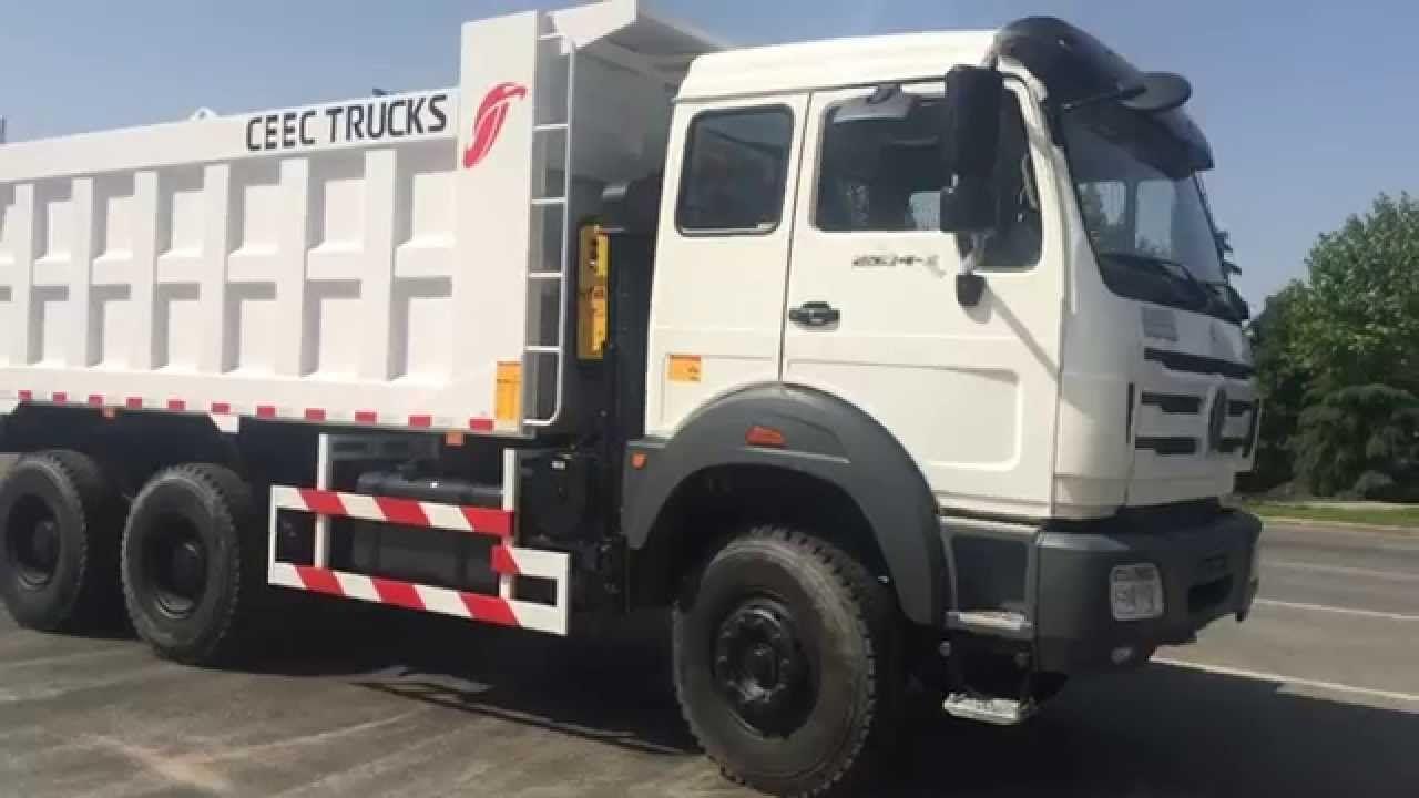 driving test for beiben 2534 dump truck.