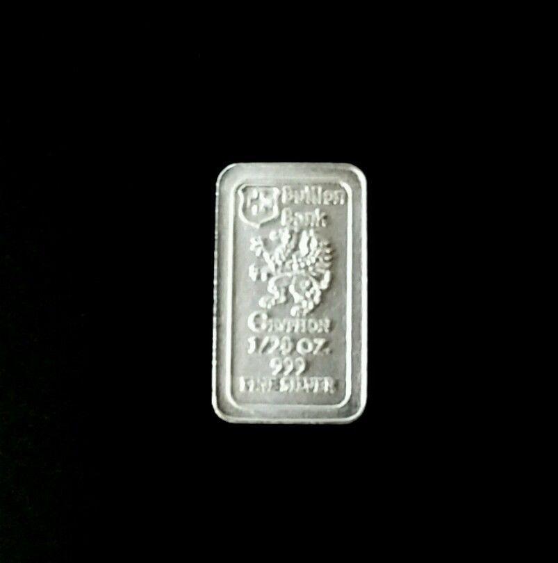 1 20 Oz 999 99 9 Fine Silver Bar Bullion Bank Silver Bar Bu Silver Bars Silver Investing Silver Bullion