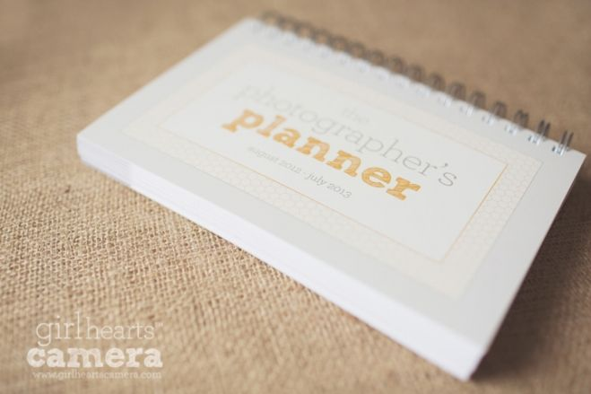The Photographer's Planner