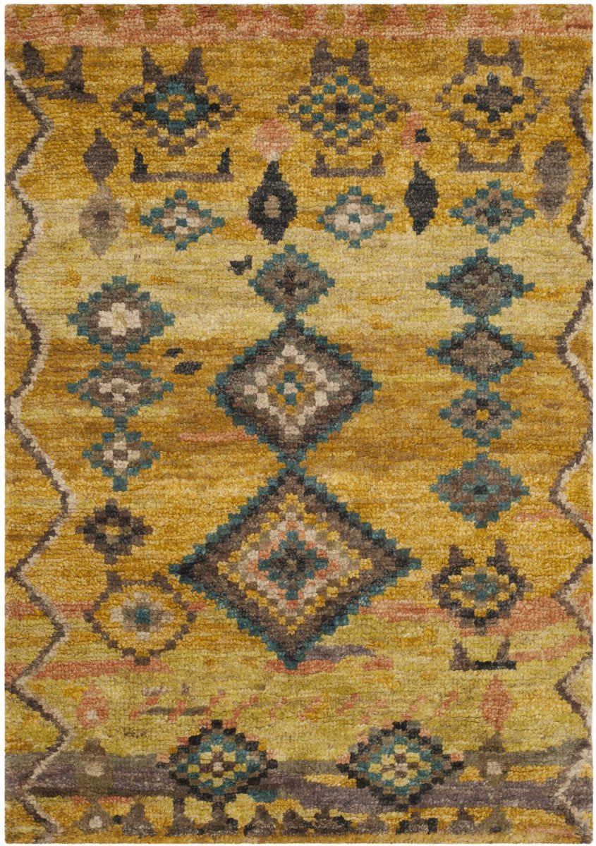Safavieh Tangier Tgr652a Gold Area Rug Area Rugs Rugs Wool Area Rugs