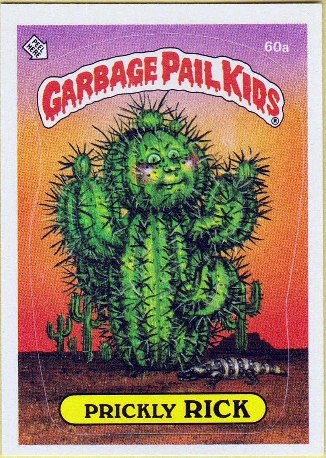 Garbage Pail Kids Garbage Pail Kids Garbage Pail Kids Cards Pail
