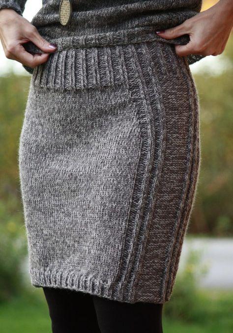 Fargene Line mørk grå og Alpaca2 grå mix | Knitting | Pinterest ...