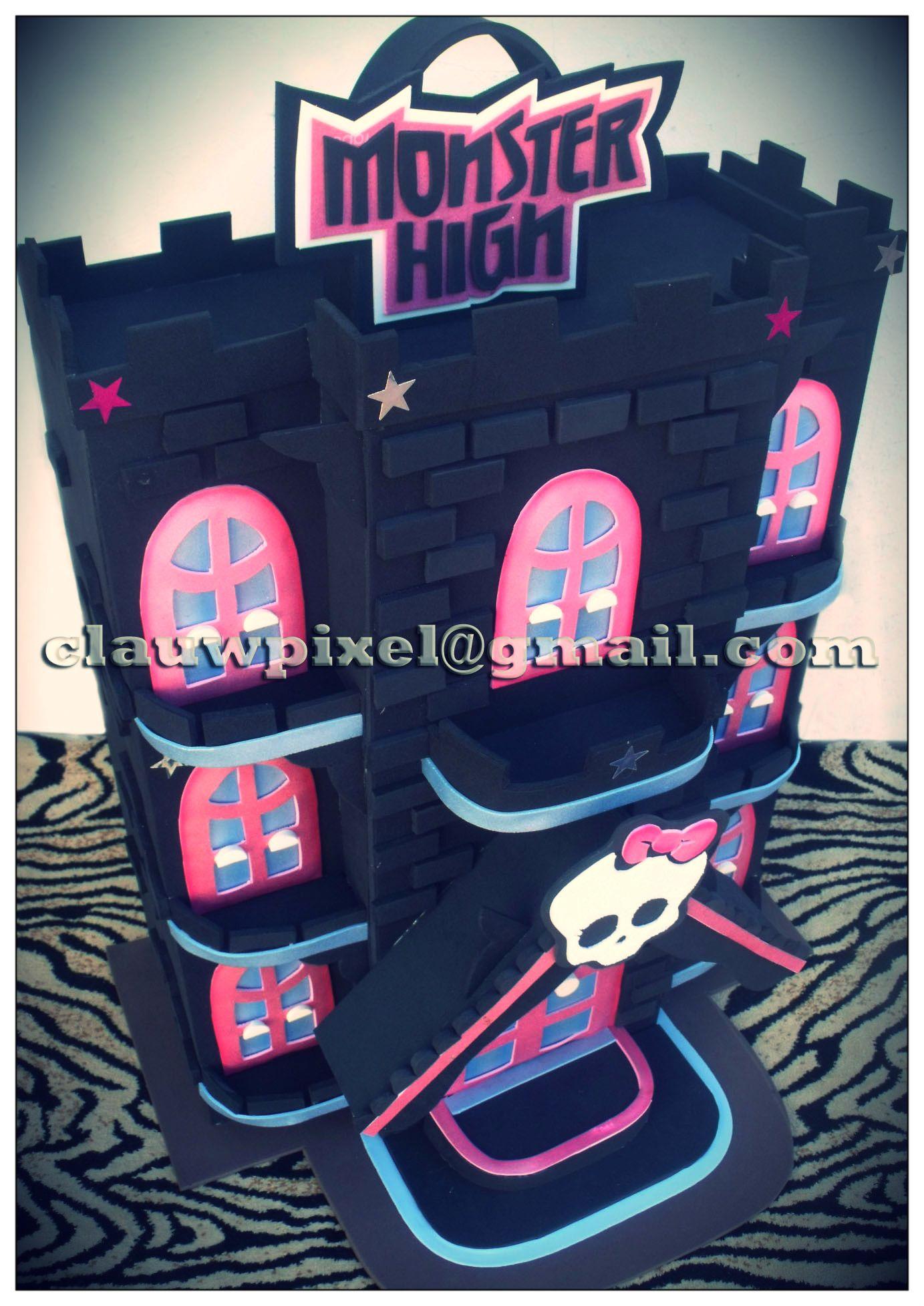 Monster High Castle.