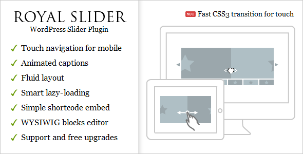 CodeCanyon – RoyalSlider – Touch Content Slider for