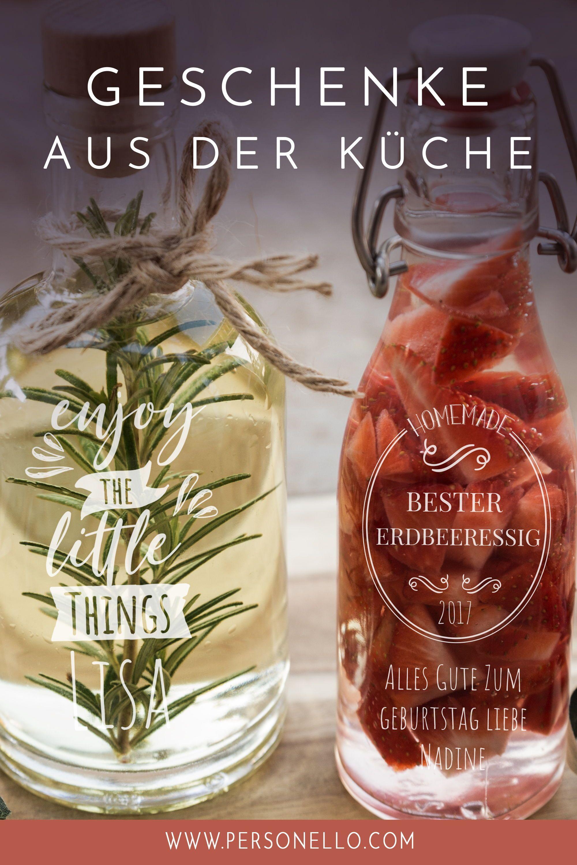 DIY #Geschenk aus der Küche mit persönlicher Gravur und Wunschnamen ...