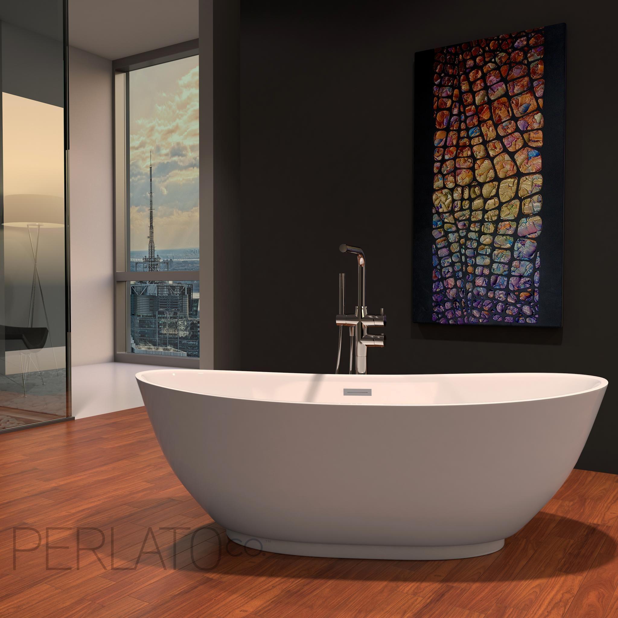 Roma Freestanding Soaker Tub | Bathe | Pinterest | Tubs