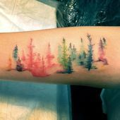Photo of 77 stunning and unique watercolor tattoos for creative minds This …
