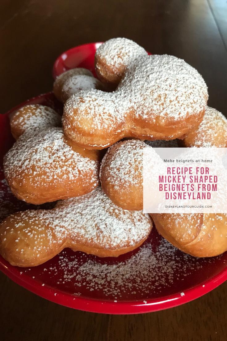 Photo of Rezept für Mickey-förmige BEIGNETS aus Disneyland
