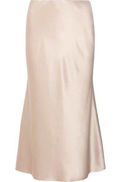 de6854617e CALVIN KLEIN COLLECTION Kristina Silk-Satin Midi Skirt.  #calvinkleincollection #cloth #skirts