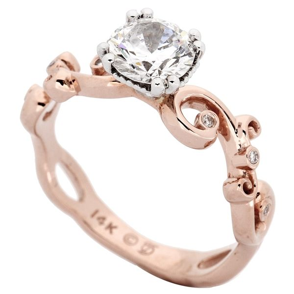 Jacob Bryan rose gold ring Would be perfect if it was white gold