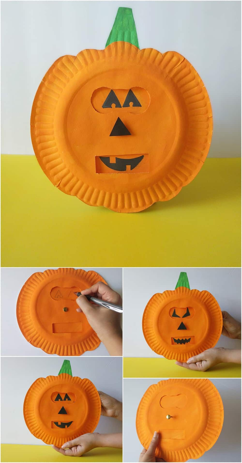 Pumpkin Emotions Craft Easy Halloween Crafts Fall Crafts For