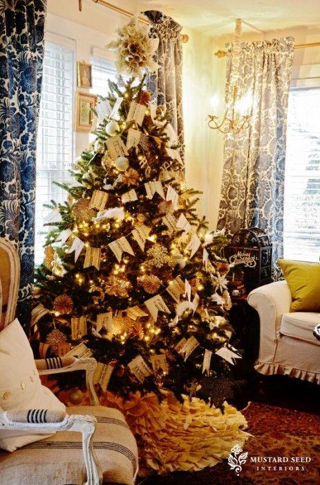 Flags On A Christmas Tree Christmas Tree Inspiration Office Christmas Decorations Holiday Decor