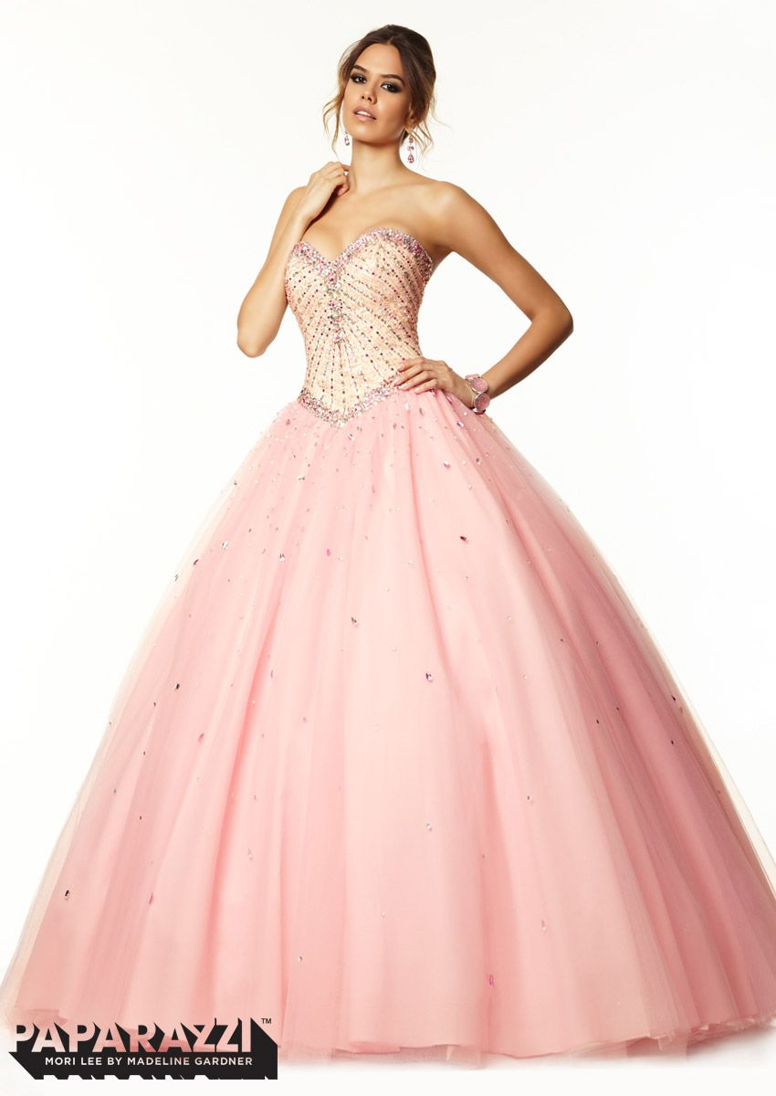NEW ARRIVAL! #PromDress by Paparazzi, Beading on Satin and Tulle ...