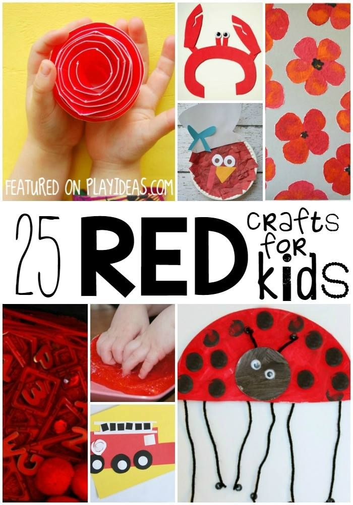 Craft Red Colour Day Celebration Ideas