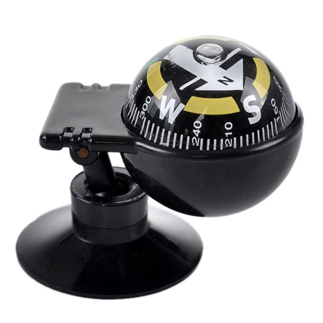 Navigation Pocket Mini Ball Universal Car Compass Camping Hiking Accessories
