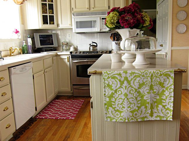 Kitchen Ideas With Diy Rug From In My Own Style Featured On Today S Creative Blog