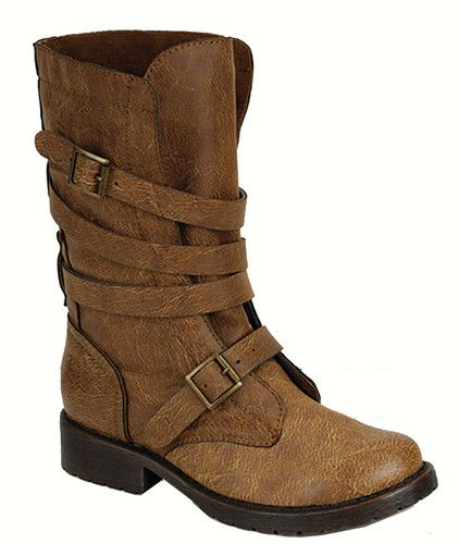 Combat Boots Without Laces But