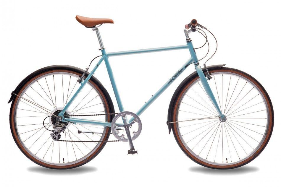 Foffa Dandy Azure city hybrid bike http://foffabikes.com