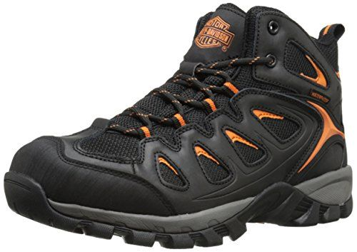 c6ef89a27a4f HarleyDavidson Mens Woodridge Waterproof Hiker Black 12 M US -- Want to  know more