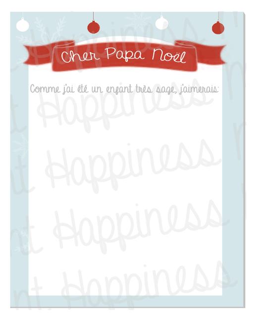Très La liste au Père Noël - A imprimer | Noël | Pinterest | La liste  PW12