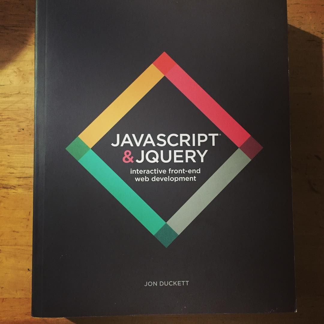 I Picked Up This Used Book Very Interesting Way Of Learning JavaScript Almost Like A