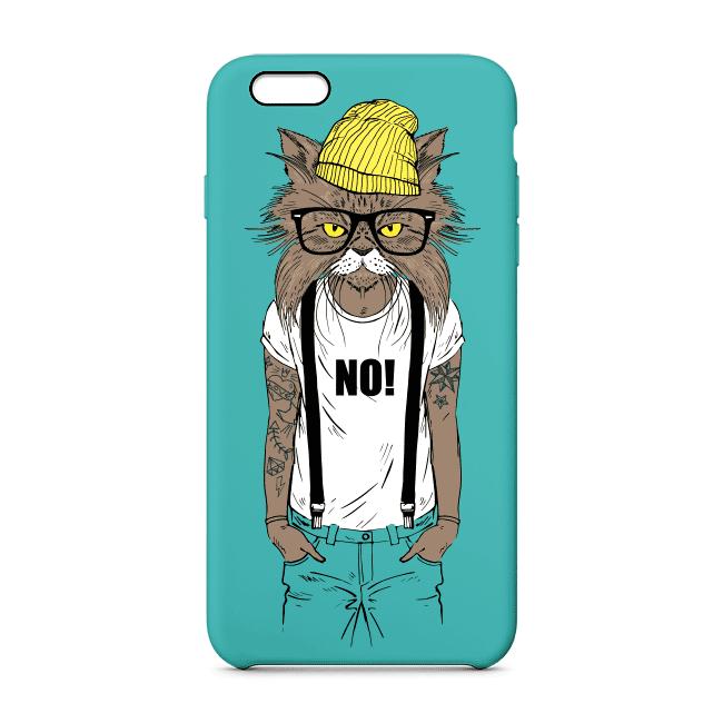 Capa de celular Gato Hipster 2 - Cat Club