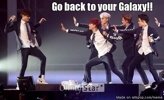 Kris .. the galaxy boy! hahaha #exo