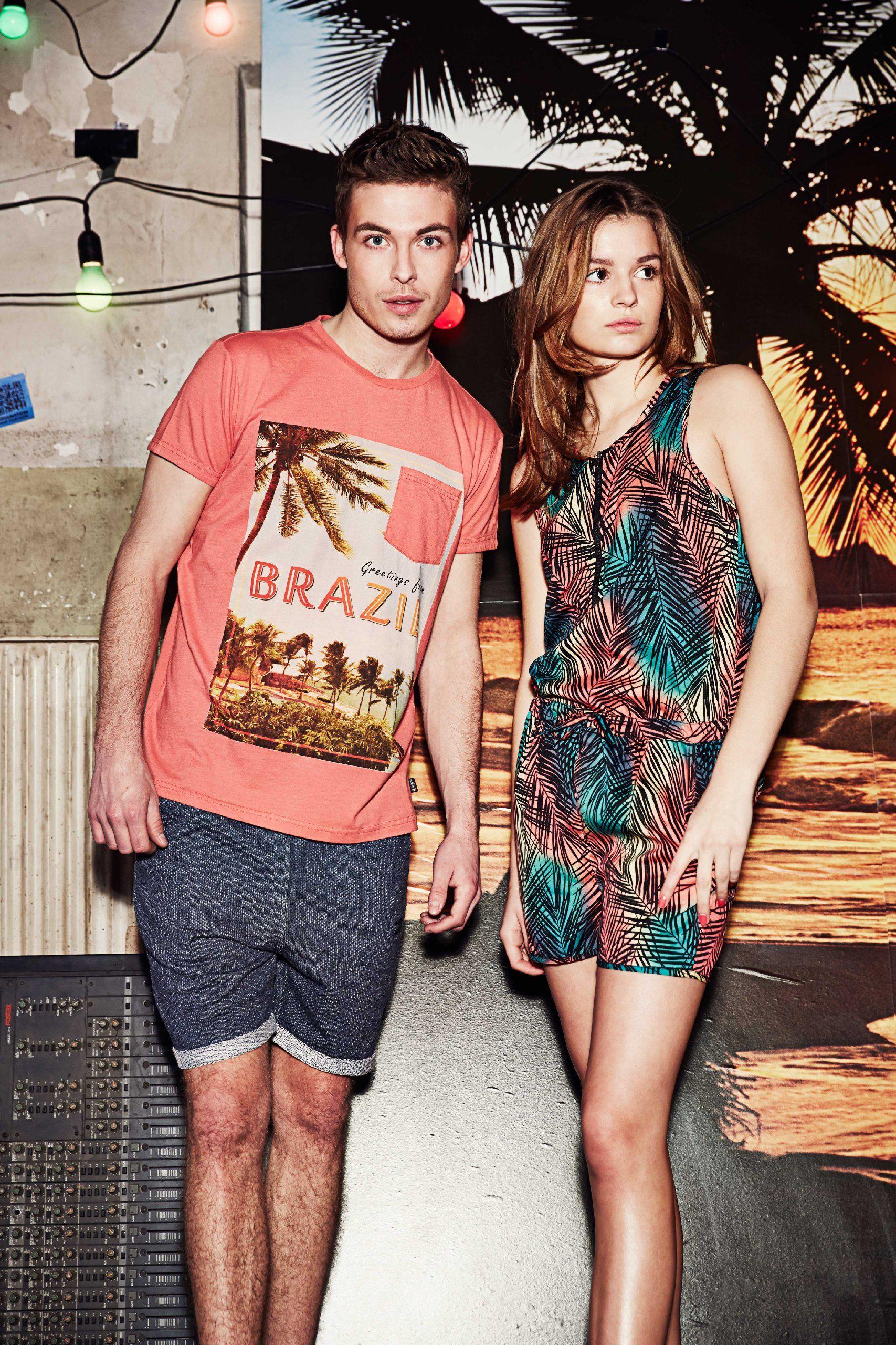 Outfitters Nation Jungen T-Shirt FLYBIRD M SS TOP 214: Amazon.de: Bekleidung