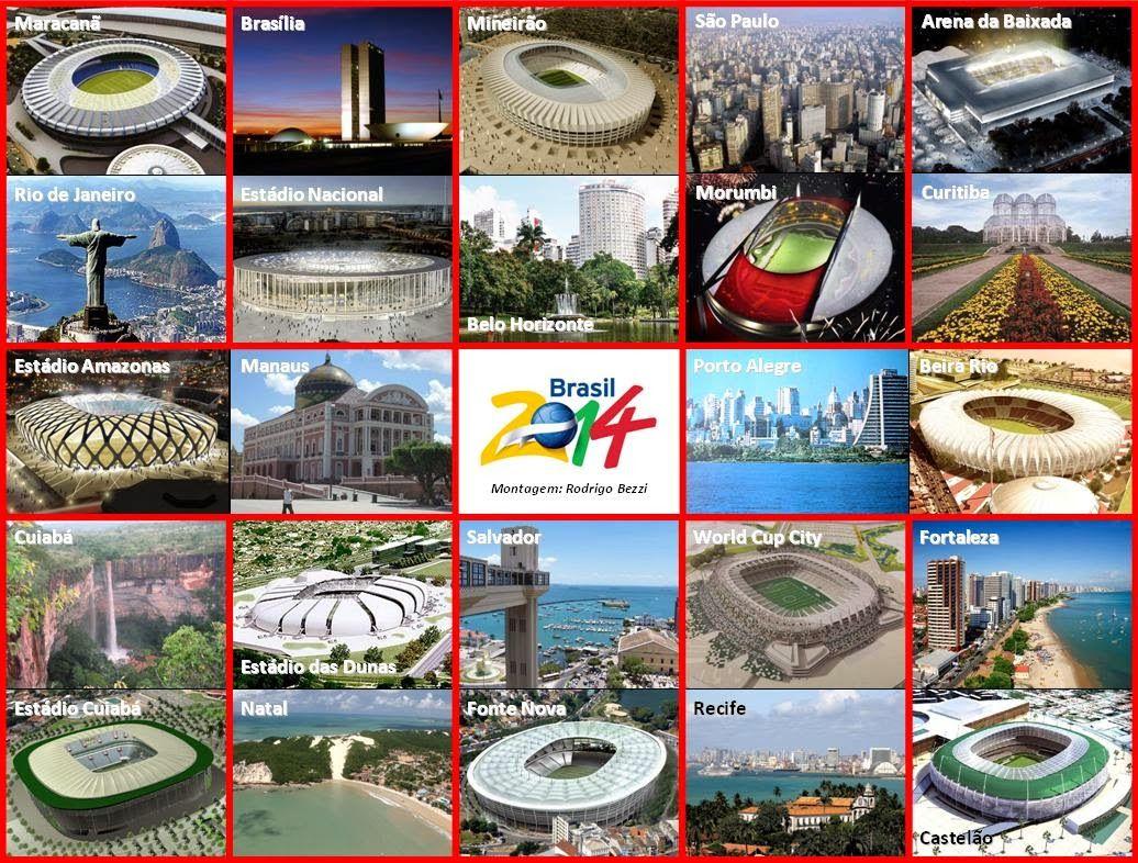 SOS PROFESSOR-ATIVIDADES: As cidades e seus estádios