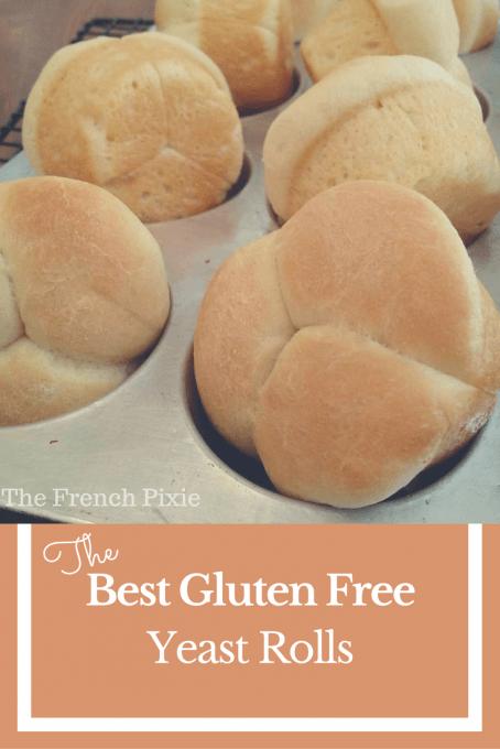 The Best Gluten Free Yeast Rolls Med Bilder Glutenfri Bakning Recept Mat