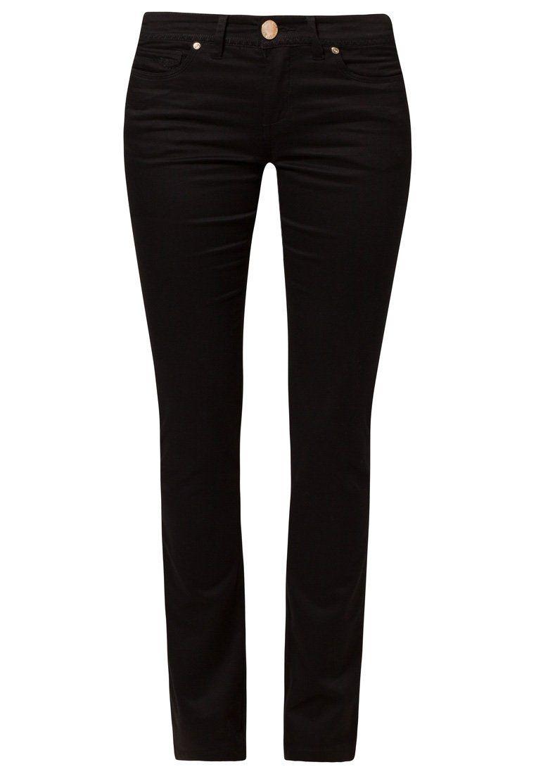 Pantalón Negro. Gabardina elasticada Tipo jeans  6a83e5c4990a