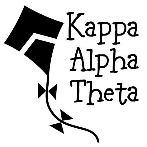 Pea Pod Paper And Gifts Kappa Alpha Theta Symbol Greek Mix And Match