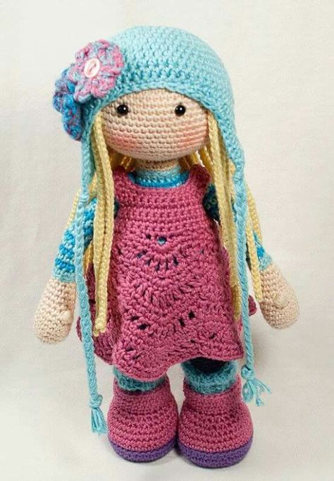 Ganchillo patrones para muñeca | muñekitas | Pinterest | Ganchillo ...