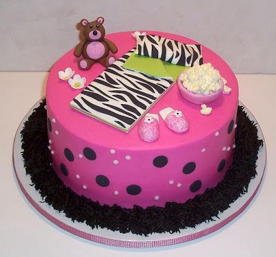 The Icing on the Cake: Pink Slumber Party Cake