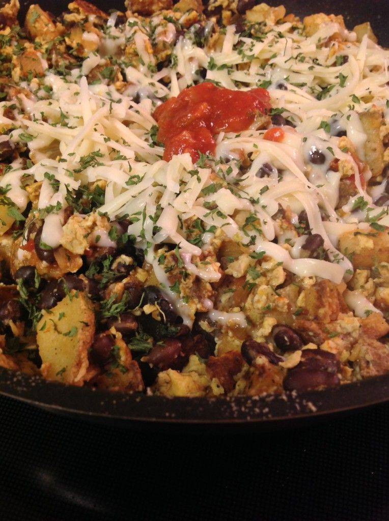 Meatless MIgas@TheBoiledNoodle