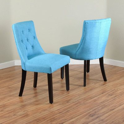 Three Posts Eisenhauer Parsons Chair Upholstery: