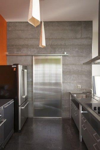 Cement Board Concrete Wall An Interior Concrete Wall
