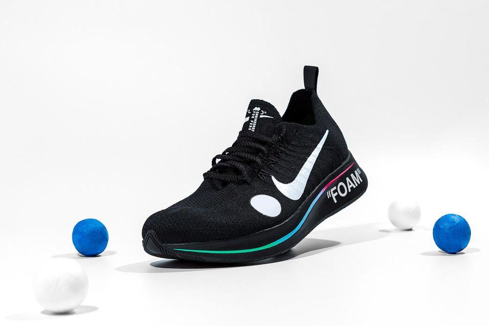 0f1dd6a4ad42 Antonia 獨佔販售!OFF-WHITE x Nike Zoom Fly Mercurial Flyknit 聯乘鞋 ...