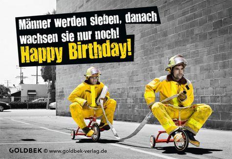 Postkarten Geburtstag Humor Manner Werden Sieben Danach