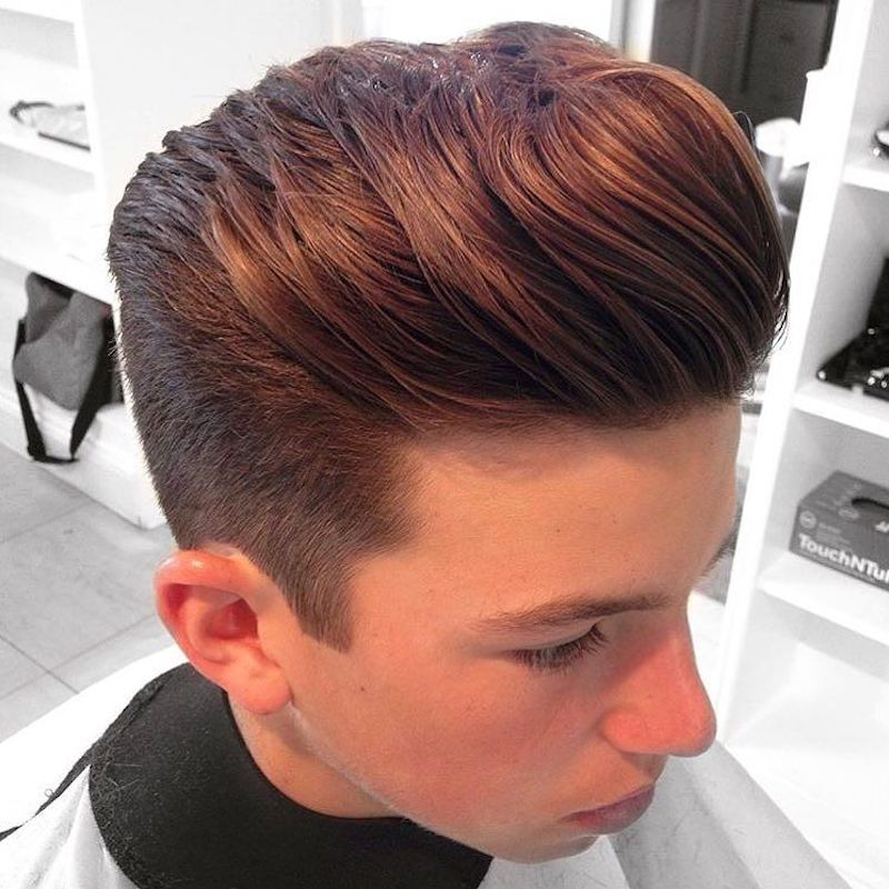 New Hairstyle new hairstyle for boys 2017 Short Sides Long Natural Looking Hair On Top Cool Haircuts For