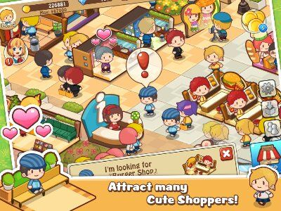 Happy Mall Story MOD APK (Unlimited Golds and Diamonds