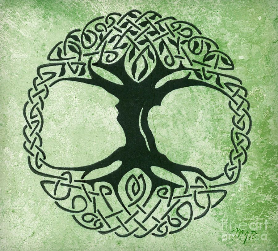 Celtic Tree Of Life Canvas Print Canvas Art By Mindy Bench