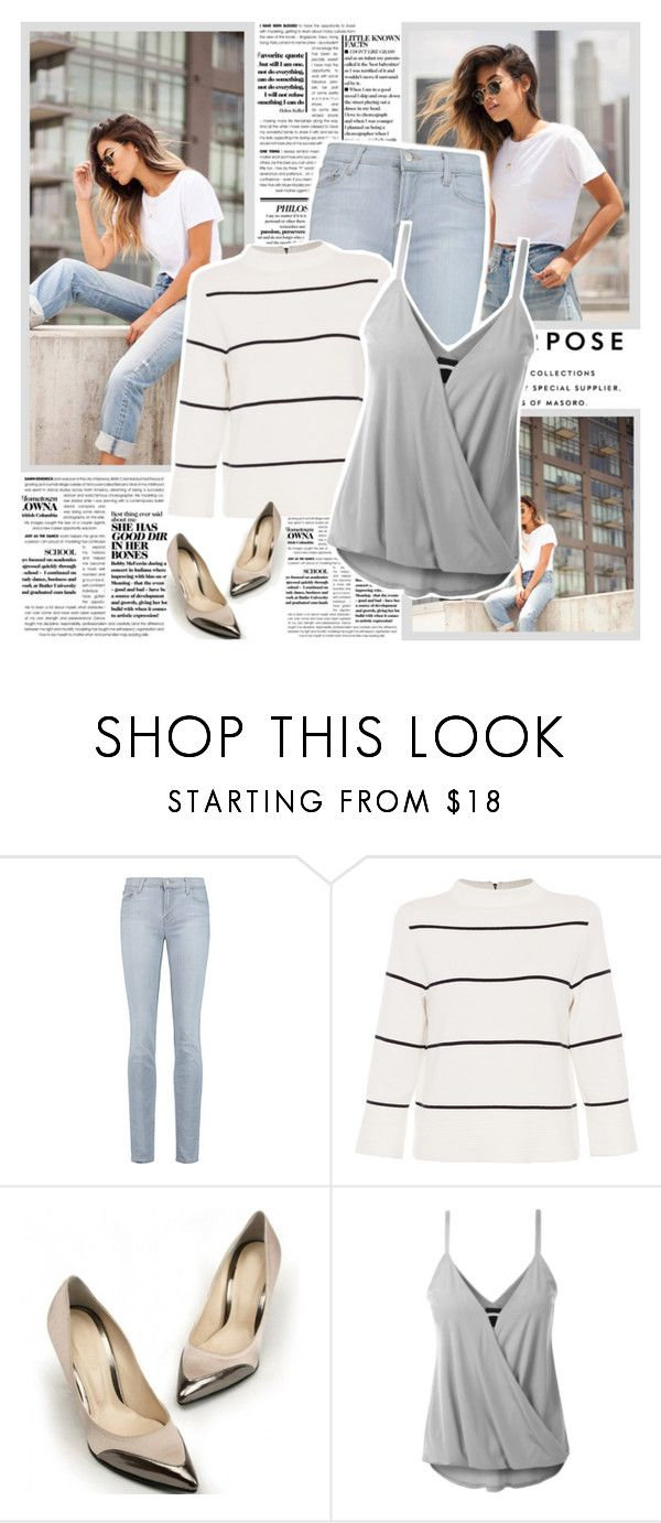 """Long way down"" by l33l ❤ liked on Polyvore featuring Wallace, J Brand and L.K.Bennett"